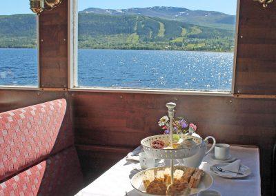Tea-tur med utsikt mot Gruvbacken i Huså
